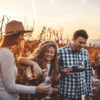 The perfect day out with friends on a wine tour.